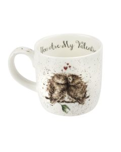 Royal Worcester Wrendale Designs Exclusive Birds of a Feather Valentines Mug