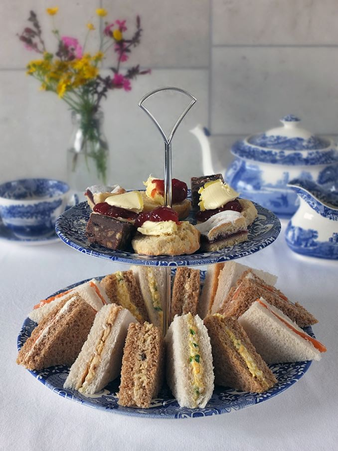 Spode Blue Italian Tableware Afternoon Tea