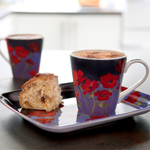 Pimpernel Mugs and Trays