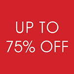 Up To 75% Off Seconds