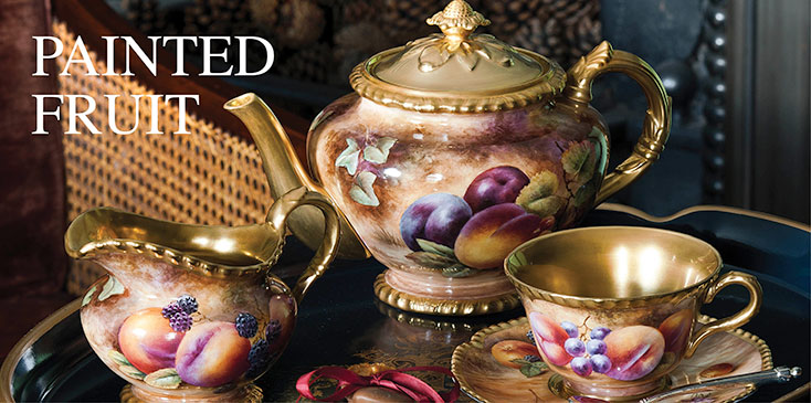 Royal Worcester Painted Fruit